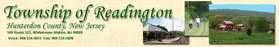 Township of Readington, Hunterdon County, New Jersey